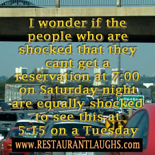 Restaurant humor