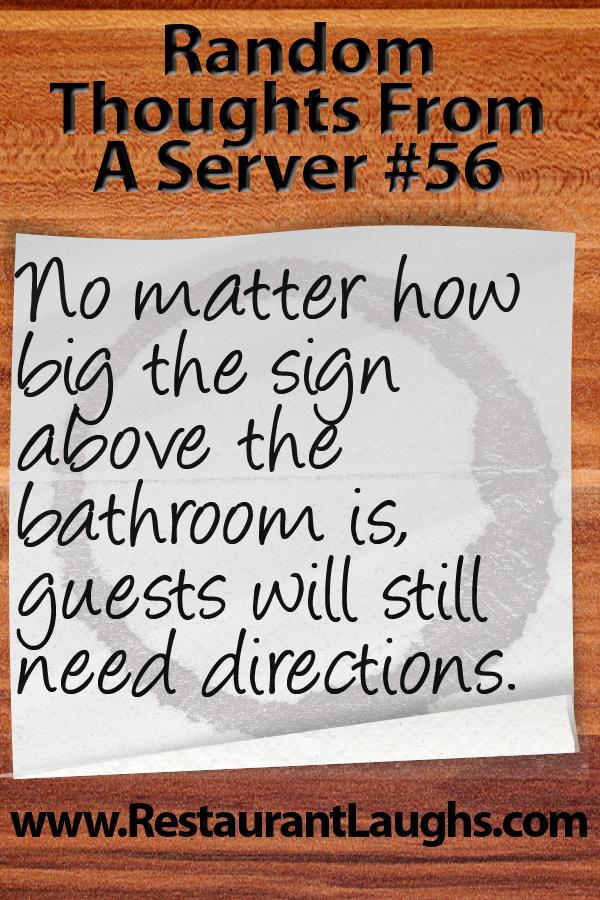 restaurant server jokes