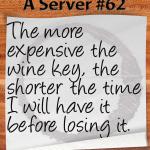 Waiter wine key