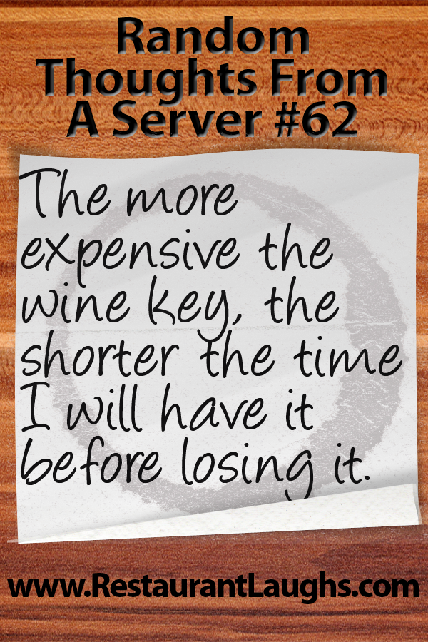 Waiter wine key